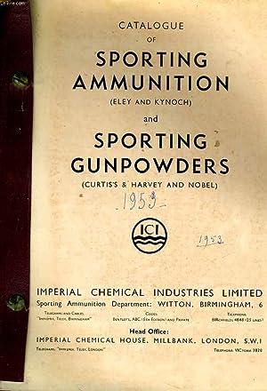 Catalogue of Sporting Ammunition and Sporting Gunpowders.: ELEY & KYNOCH.