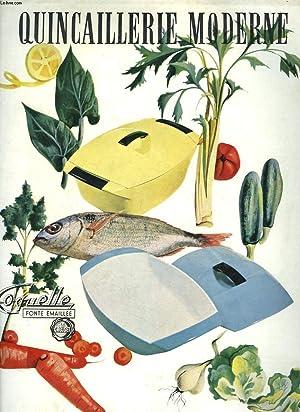 QUINCAILLERIE MODERNE, REVUE MENSUELLE N°166, OCTOBRE 1959. CONFORT MENAGER / ...