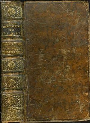 HISTOIRE DE FRANCE SOUS LE REGNE DE LOUIS XIV. TOME VIII.: Mr. DE LARREY