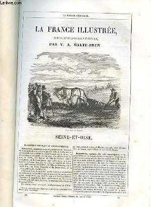LA FRANCE GEOGRAPHIQUE, HISTORIQUE ET ADMINISTRATIVE- SEINE-ET-OISE.: MALTE-BRUN V.A.