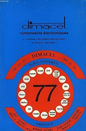 CATALOGUE DIMACEL. COMPOSANTS ELECTRONIQUES.: COLLECTIF