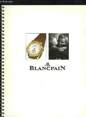 Catalogue J.B. Blancpain, Montres et Bracelets.: MOSER Jean-Pierre