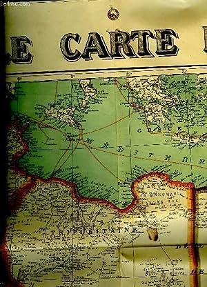 NOUVELLE CARTE D AFRIQUE EN COULEURS. 1 / 8000000.: COLLECTIF