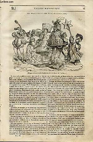 LE MAGASIN PITTORESQUE - Livraison n°009 - Les masques et les macarades, suite.: Cazeaux ...
