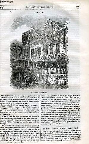 LE MAGASIN PITTORESQUE - Livraison n°044 - Chester.: Cazeaux Euryale et Charton Edouard.