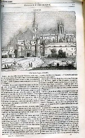 LE MAGASIN PITTORESQUE - Livraison n°028 - Burgos.: Cazeaux Euryale et Charton Edouard.