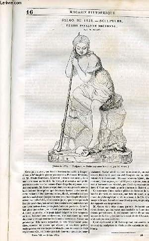 LE MAGASIN PITTORESQUE - Livraison n°016 -: Cazeaux Euryale et