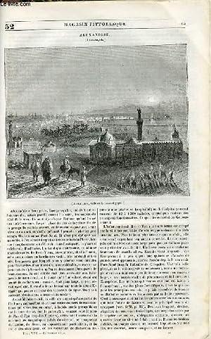 LE MAGASIN PITTORESQUE - Livraison n°052 - Alexandrie (Iskanderyeh).: Cazeaux Euryale et ...