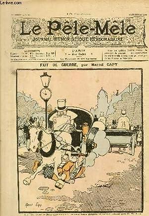 Le Pêle-Mêle, 5è année, N°49. FAIT DE: CAPY Marcel