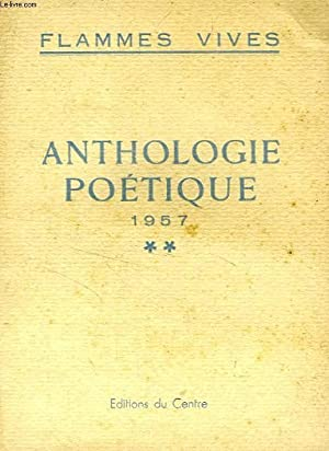 ANTHOLOGIE POETIQUE, 1957: COLLECTIF