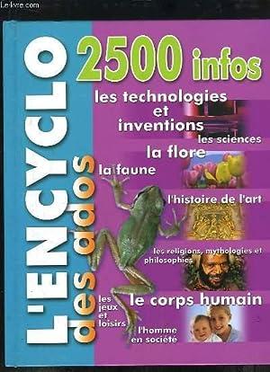 L'Encyclo des Ados.: COLLECTIF