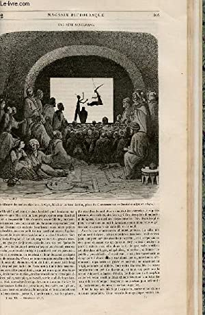 LE MAGASIN PITTORESQUE - Livraison n°052 - Une fête musulmane.: Cazeaux Euryale et ...