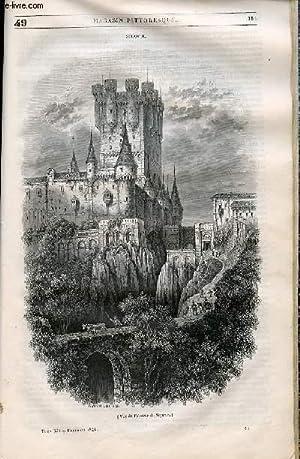 LE MAGASIN PITTORESQUE - Livraison n°049 - Ségovie.: Cazeaux Euryale et Charton Edouard.