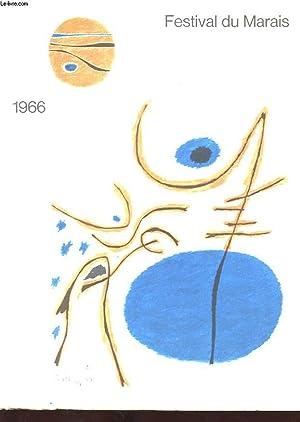 FESTIVAL DU MARAIS. SAUVEGARDE ET MISE EN VALEUR DU PARIS HISTORIQUE.: COLLECTIF