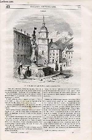 LE MAGASIN PITTORESQUE - Livraison n°043 - Altorf,capitale du canton d'Uri.: Cazeaux ...