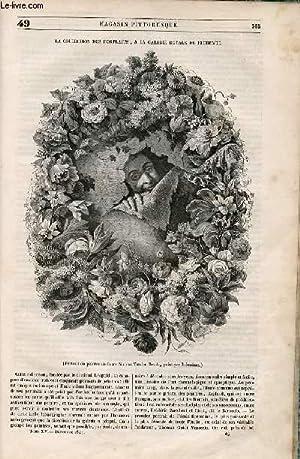 LE MAGASIN PITTORESQUE - Livraison n°049 - La collection des portraits , à la galerie royale de ...
