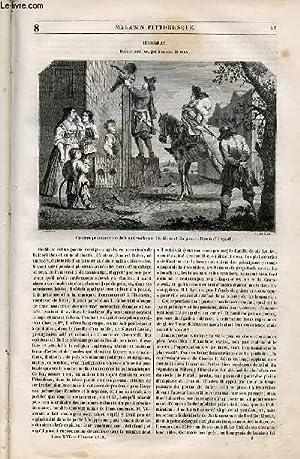LE MAGASIN PITTORESQUE - Livraison n°008 -: Cazeaux Euryale et