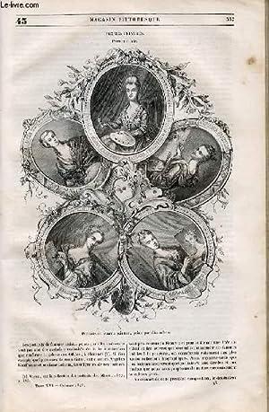LE MAGASIN PITTORESQUE - Livraison n°043 - Femmes peintres, à suivre.: Cazeaux Euryale ...
