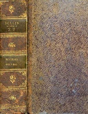 OEUVRES COMPLETES DE ROLLIN. OEUVRES DIVERSES SUIVI DE HISTOIRE ROMAINE TOME XIII. TABLE GENERALE ...