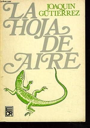 LA HOJA DE AIRE: JOAQUIM GUTIERREZ
