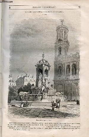 LE MAGASIN PITTORESQUE - Livraison n°004 - Fontaine monumentale de al place Saint Sulpice &...