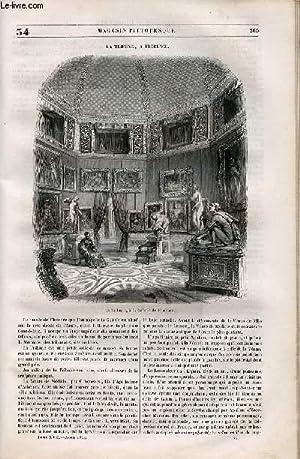 LE MAGASIN PITTORESQUE - Livraison n°034 - La tribune à Florence.: Cazeaux Euryale et ...