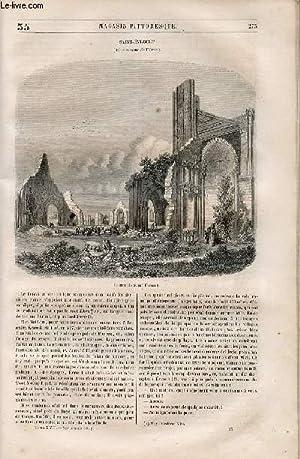 LE MAGASIN PITTORESQUE - Livraison n°035 - Saint Evroult (Orne).: Cazeaux Euryale et Charton ...