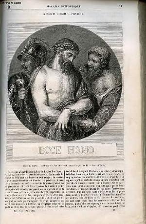 LE MAGASIN PITTORESQUE - Livraison n°010 - Musée du Louvre - Peinture - Ecce homo.: ...