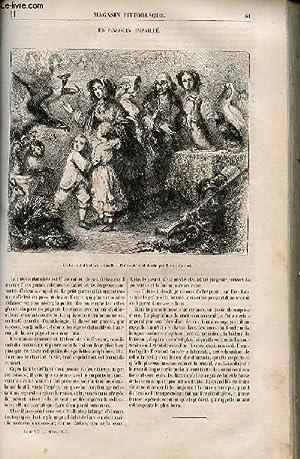 LE MAGASIN PITTORESQUE - Livraison n°011 - Un pingouin empaillé.: Cazeaux Euryale et ...