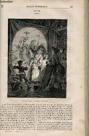 LE MAGASIN PITTORESQUE - Livraison n°037 - Schenau (Zeizig).: Cazeaux Euryale et Charton ...
