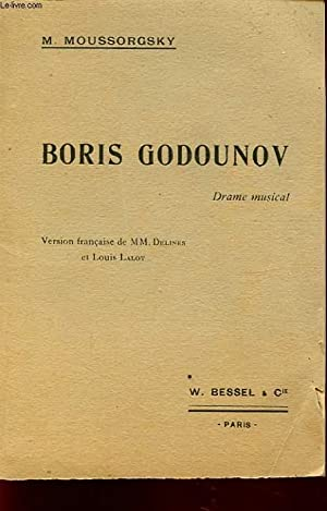 BORIS GODOUNOV: M. MOUSSORGSKY