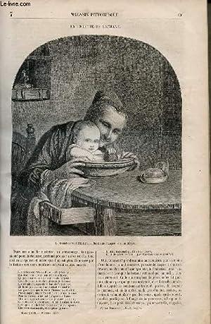LE MAGASIN PITTORESQUE - Livraison n°007 - La toilette de l'enfant.: Cazeaux Euryale et ...