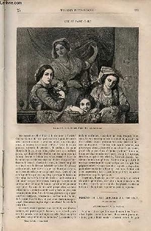 LE MAGASIN PITTORESQUE - Livraison n°025 - Que se passe-t-il?: Cazeaux Euryale et Charton Edouard.