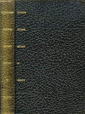 ANABASE, APOLOGIE DE SOCRATE: XENOPHON, Par P. MASQUERAY