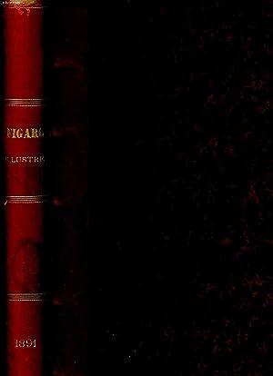 FIGARO ILLUSTRE 1891. ANNEE ENTIERE: COLLECTIF