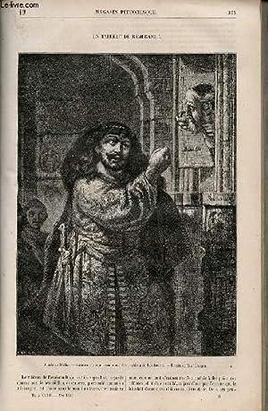 LE MAGASIN PITTORESQUE - Livraison n°019 - Un tableau de Rembrandt.: CHARTON Edouard.