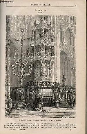 LE MAGASIN PITTORESQUE - Livraison n°004 - L'église de Léon (Belgique).: ...