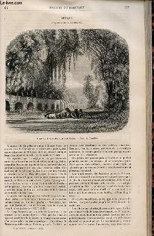 LE MAGASIN PITTORESQUE - Livraison n°043 - Mexique - l'aqueduc de Chapultepec.: CHARTON ...