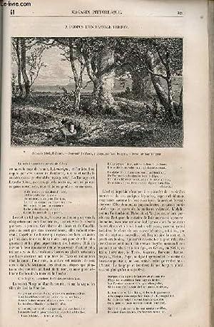 LE MAGASIN PITTORESQUE - Livraison n°041 - A propos d'un paysage breton.: CHARTON EDOUARD.