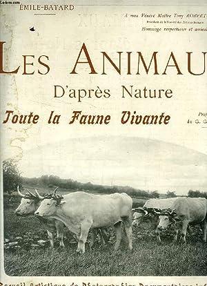 LES ANIMAUX D'APRES NATURE, 1re ANNEE, 3e LIVRAISON, DEC. 1905, TOUTE LA FAUNE VIVANTE: ...