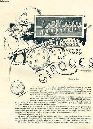 REVUE DE PARIS (EXTRAIT), A TRAVERS LES CIRQUES (SUITE& FIN): FRICHET HENRY