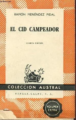 EL CID CAMPEADOR - CUARTA EDICION -: RAMON MENENDEZ PIDAL
