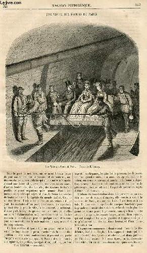 LE MAGASIN PITTORESQUE - Livraison n°033 - Une visite aux égouts de Paris.: CHARTON EDOUARD.