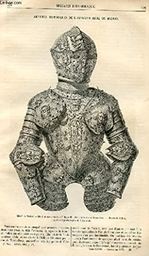 LE MAGASIN PITTORESQUE - Livraison n°39 - Armures historiques de l'Armeria real de Madrid....