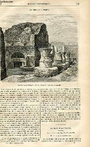 LE MAGASIN PITTORESQUE - Livraison n°39 - Les moulins à Pompéi.: CHARTON EDOUARD.