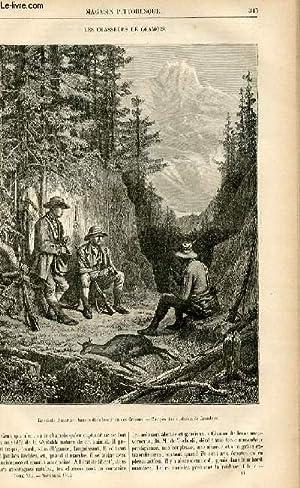 LE MAGASIN PITTORESQUE - Livraison n°44 - Les chasseurs de chamois.: CHARTON EDOUARD.