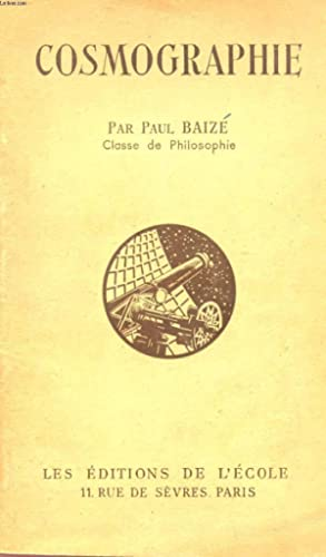 COSMOGRAPHIE.: BAIZE PAUL
