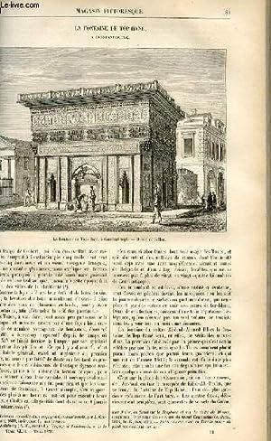 LE MAGASIN PITTORESQUE - Livraison n°11 - La fontaine de Top- Hane à COnstantinople.: ...