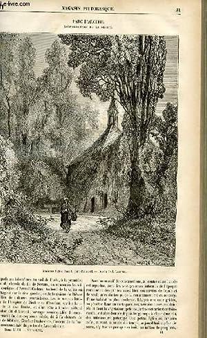 LE MAGASIN PITTORESQUE - Livraison n°11 - Parc d'Arcueil (Seine).: CHARTON EDOUARD.