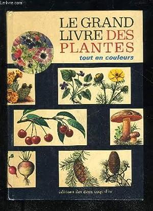 LE GRAND LIVRE DE PLANTES TOUT EN: COLLECTIF